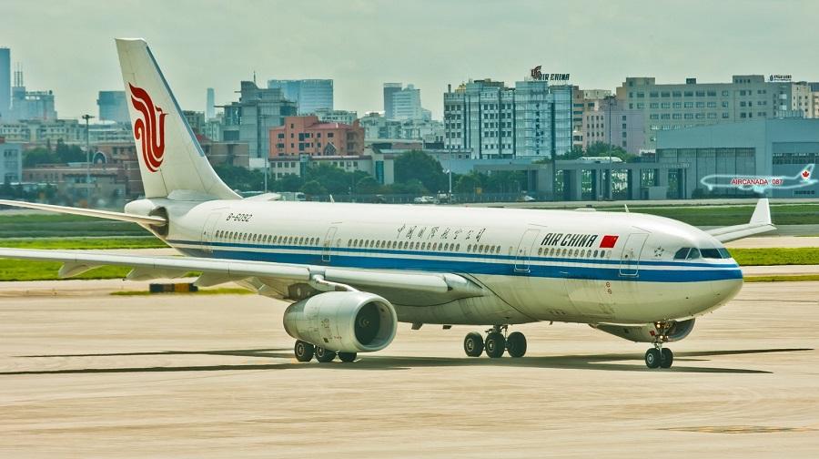 東方航空。新華社