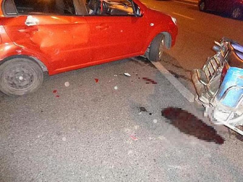 事故現場圖片。網上圖片