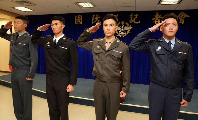 新型軍服。網上圖片