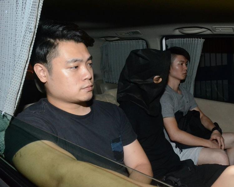 警員拘捕一名24歲男子。蔡楚輝攝