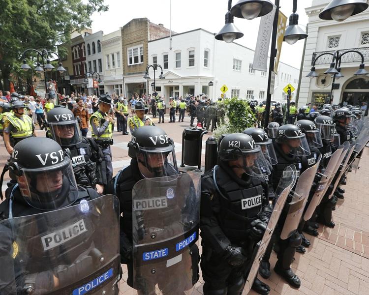 抗議集會演變成為奪命暴力慘劇。AP