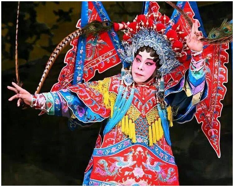 粵劇名伶張寶華。網上圖片