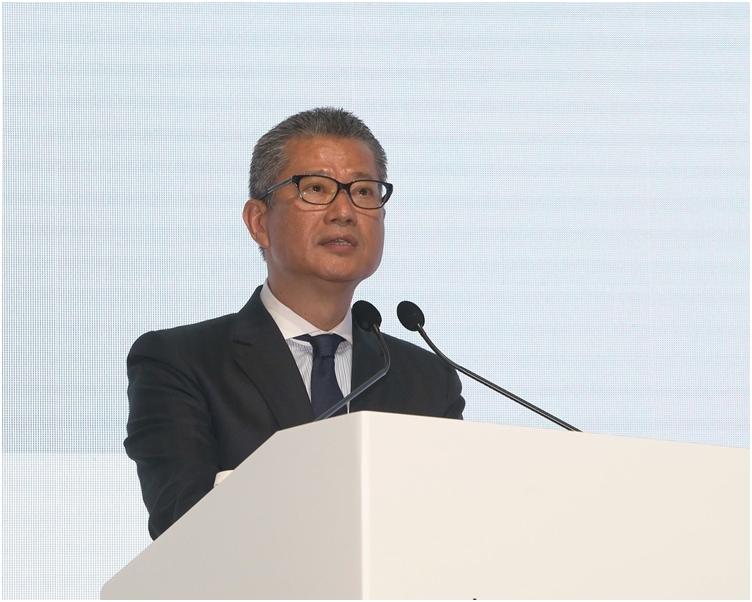 陳茂波關心香港金融市場的質素。