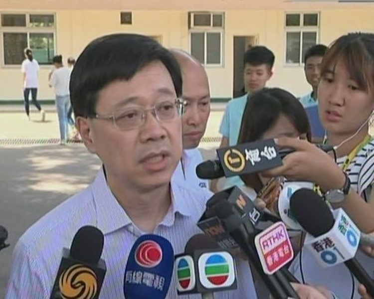 李家超指事件已交由警方重案組接手調查。