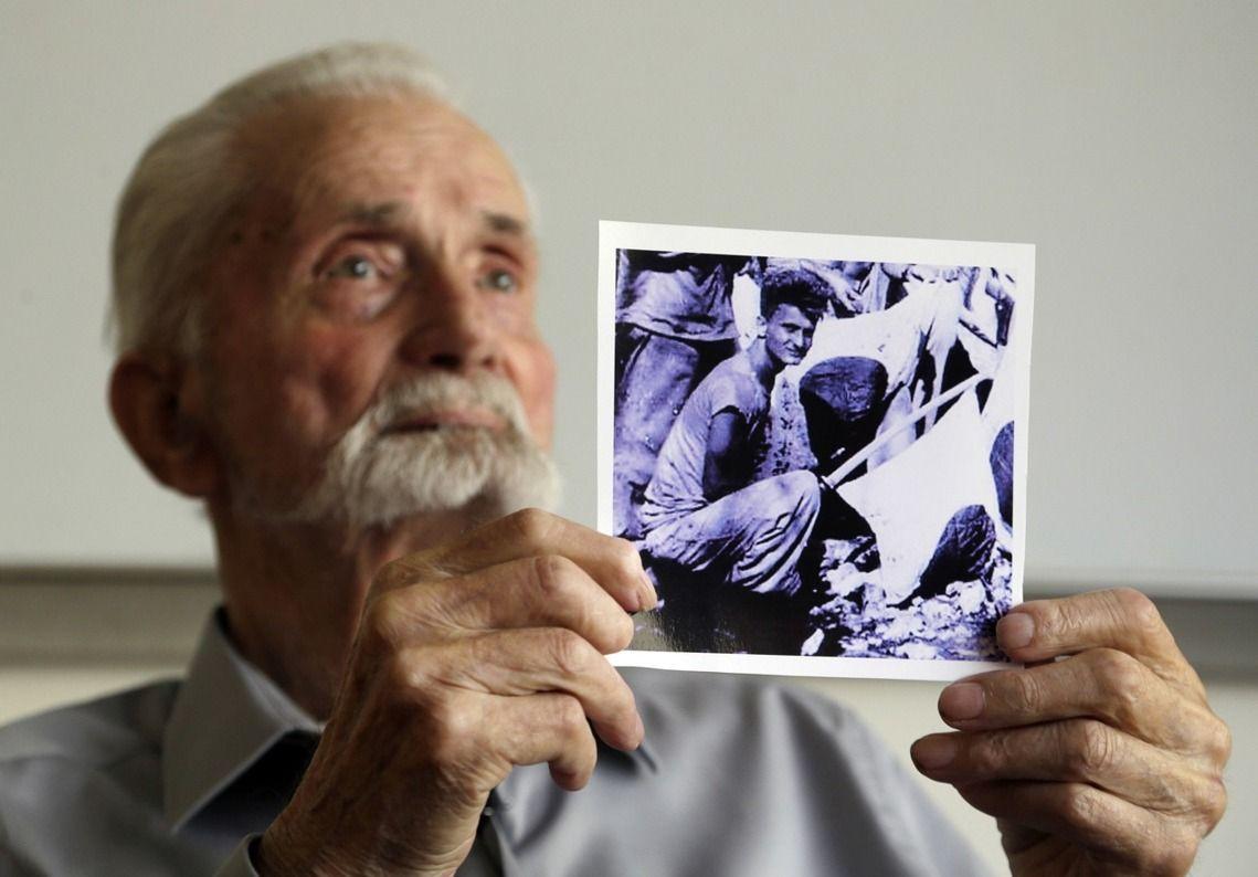 二次大戰期間,斯特羅姆博曾在海軍陸戰隊服役。網圖