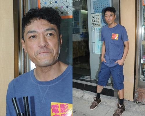 姜皓文首次擔正男主角心情興奮,同時大壓力。