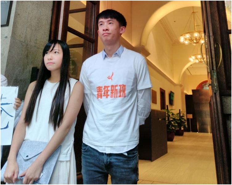 游蕙禎及梁頌恆今早9時許已抵達終審法院應訊。