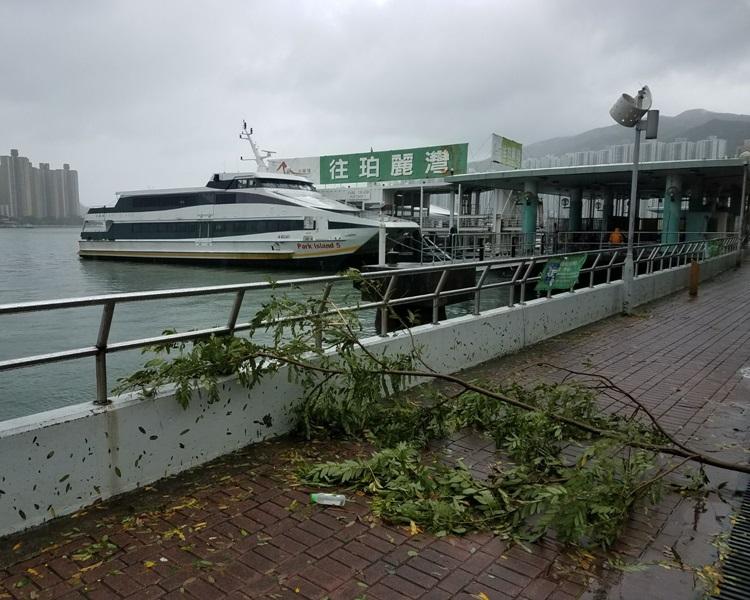 珀麗灣客運碼頭。