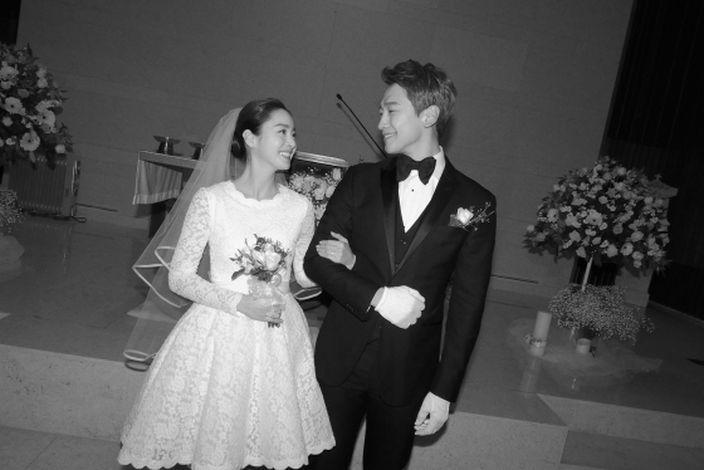 金泰希與Rain今年初完婚。