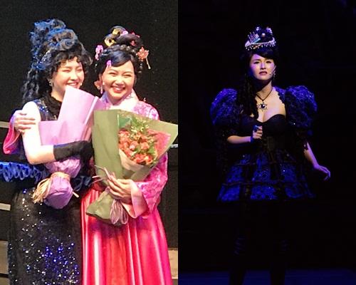 Mag在台上偷偷落淚,跟彭杏英接過花後都有感動到喊。