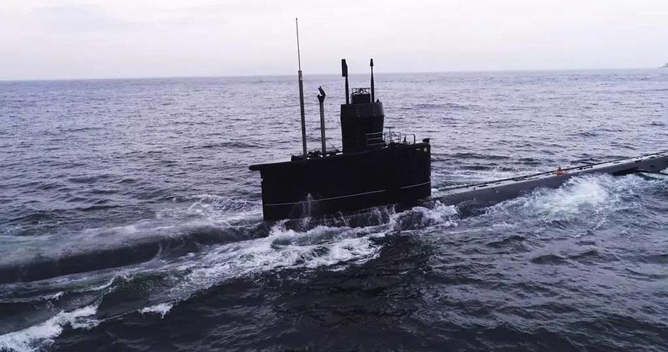 解放軍罕有公開潛艇部隊演練。