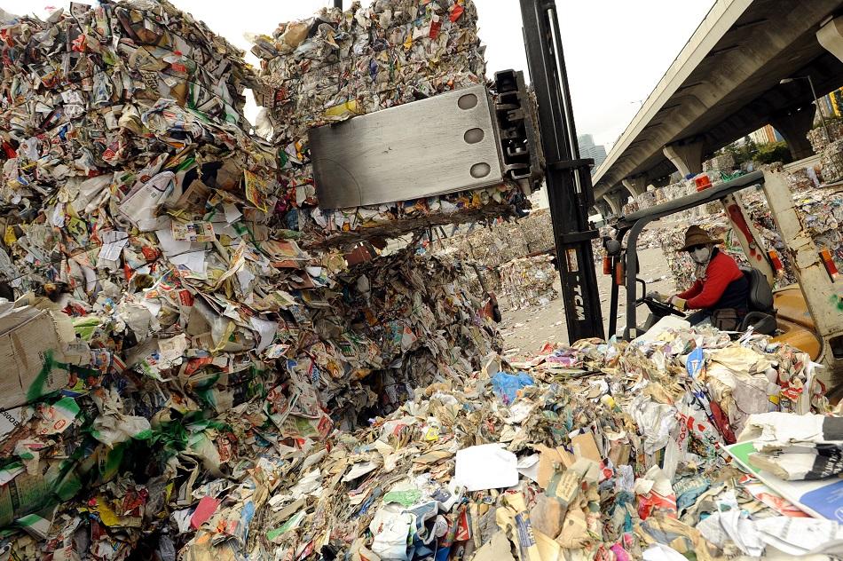 有回收商計劃發起罷收廢紙。資料圖片