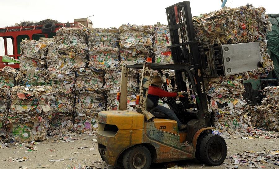 業界延至下周五罷收廢紙。資料圖片