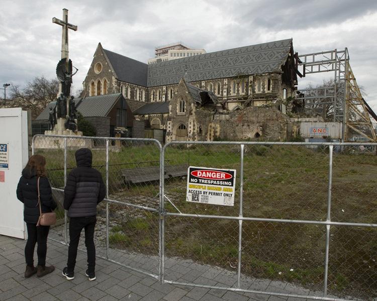 紐西蘭基督城 Facebook: 聖公會決定重建紐西蘭基督城地標主教座堂 -- 星島日報