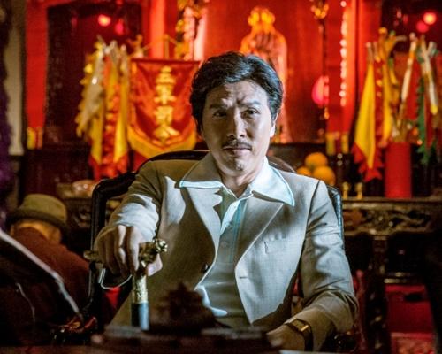 甄子丹飾演香港傳奇人物「跛豪」。