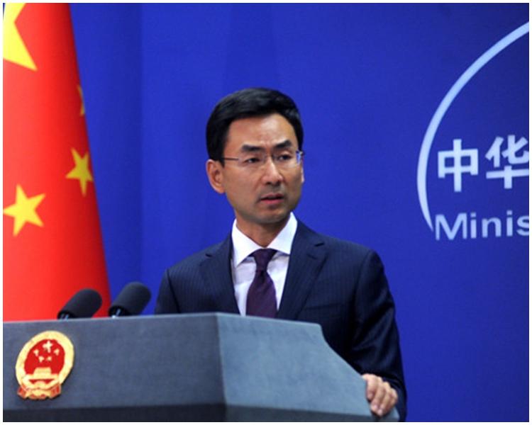 中國外交部發言人耿爽。網上圖片