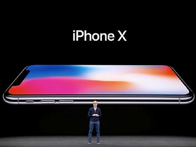 美國蘋果公司在香港時間凌晨2時許正式公布iPhoneX(讀音。iPhone Ten)