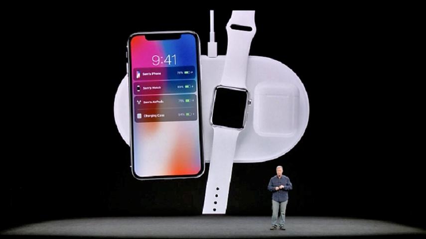 新iPhone可對應無線充電。