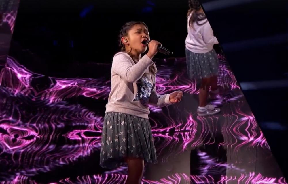 Angelica被形容是天使的聲音。官方fb畫面截圖