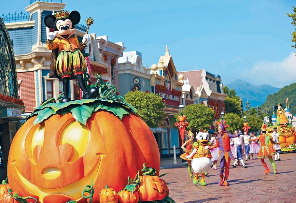 香港迪士尼明日起至10月31日將由早到晚推出多項活動。資料圖片