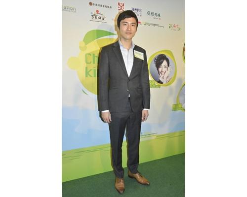 蔡加讚出席「香港品格日」活動。