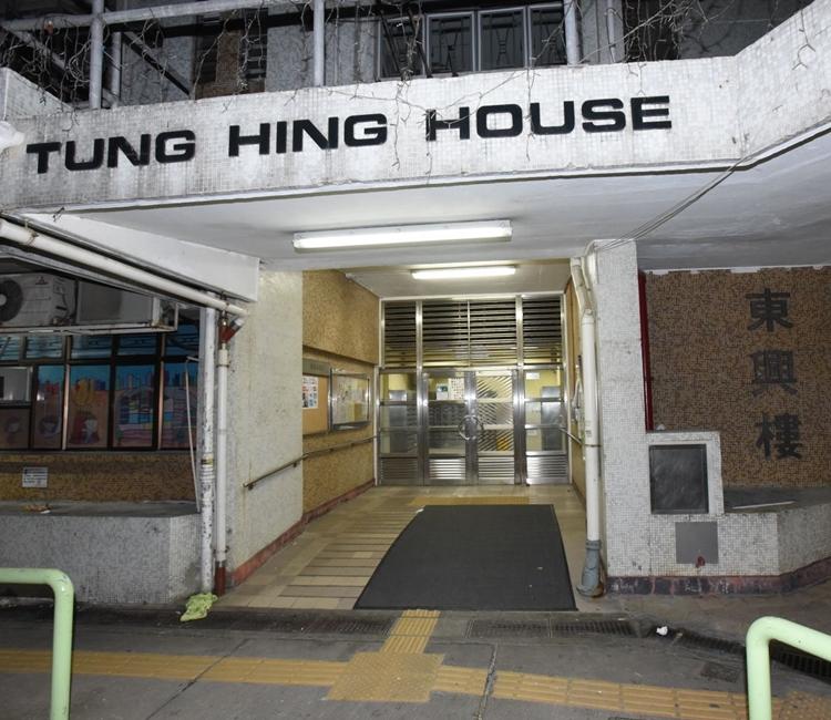 香港仔利東邨發生離奇家暴案。丁志雄攝