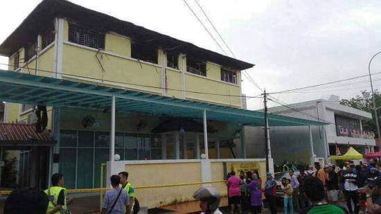 肇事學校位於首都吉隆坡。網圖