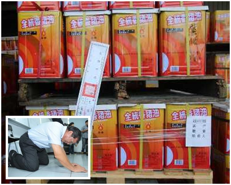 爆出販賣黑心油醜聞的強冠董事長葉文祥。資料圖片