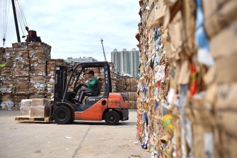回收業表示罷收不會長過七天。資料圖片