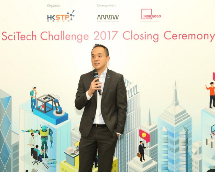 科技園首席科技總監戴紹龍表示,比賽助參賽者將概念轉化為可應用的科技產品。