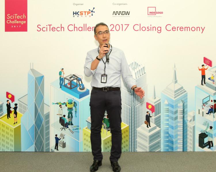 艾睿亞太區元器件業務供應商業務營銷副總裁黃漢基表示,比賽結合了三個合作夥伴的力量。