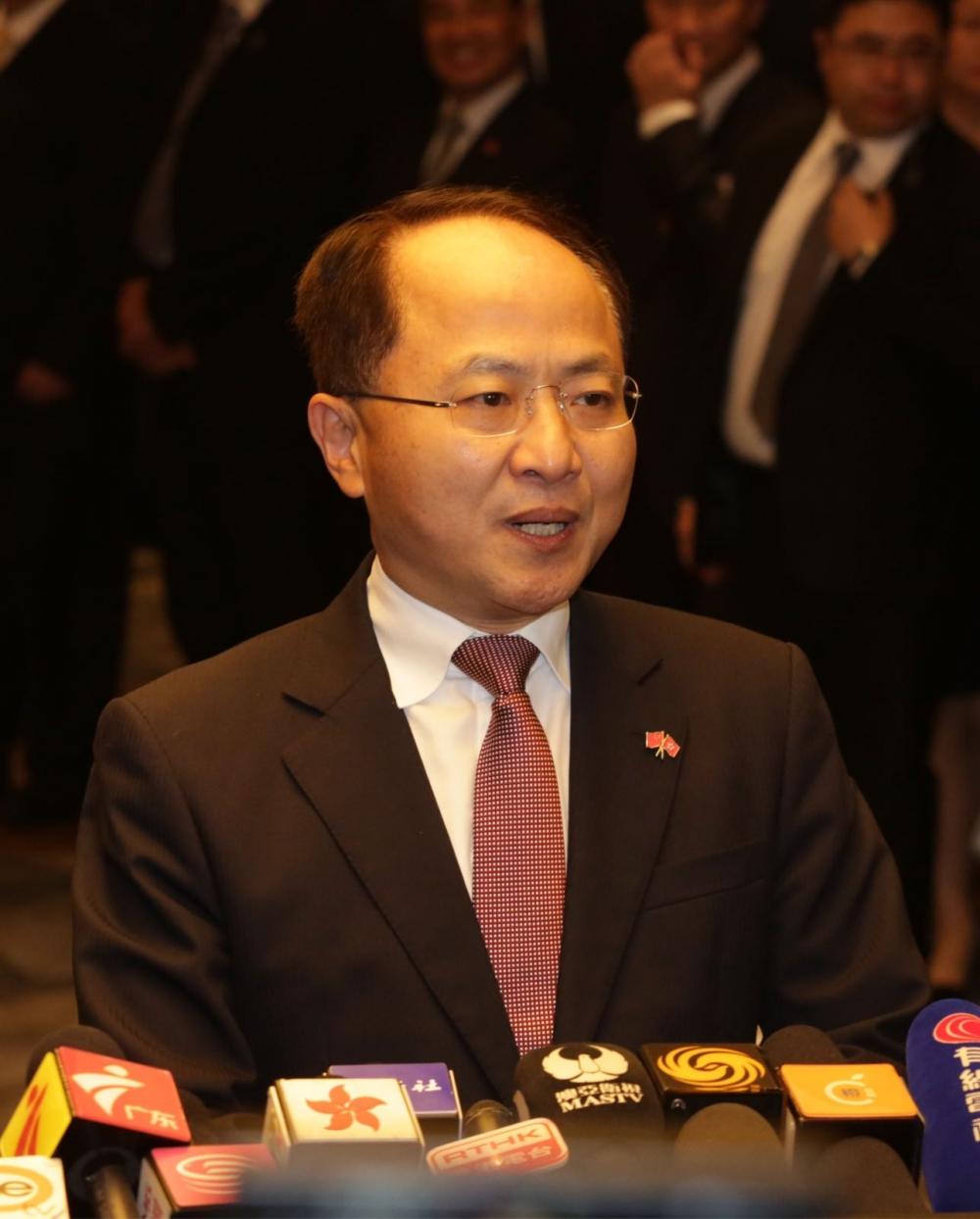 王志民表示「港獨」嚴重違法。