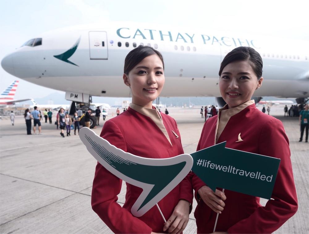 國泰航空發言人表示,明白假期對香港市民大眾的重要性。資料圖片