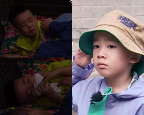Jasper帶病去村落拍攝沒巴斯光年又沒媽咪,隨即傷感爆喊。