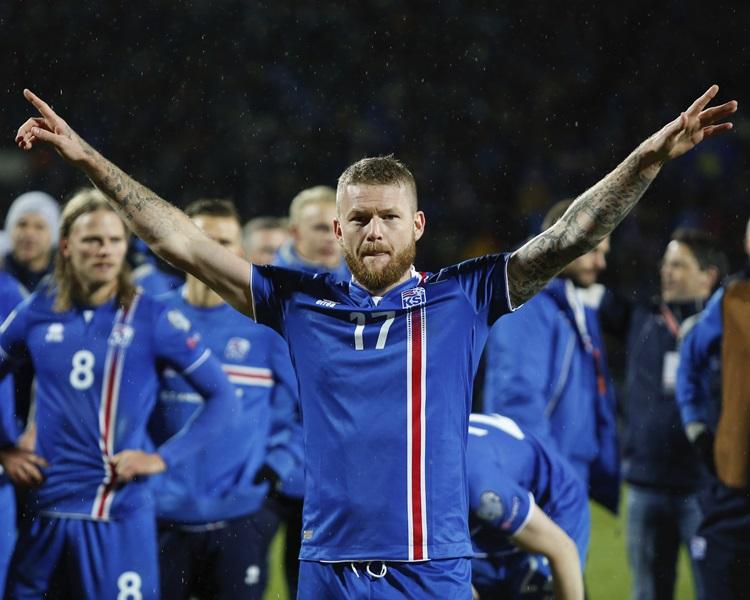 冰島歷史性晉身決賽周。AP