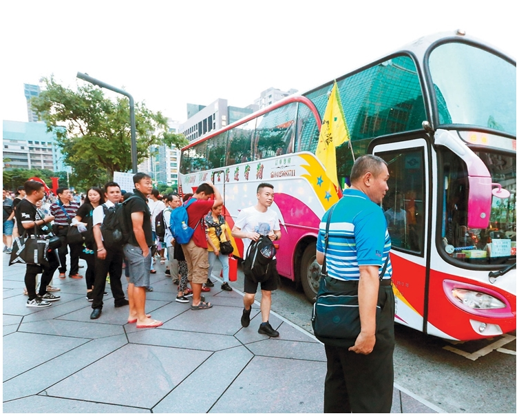 內地客遊台自由行人數達61908人次。網上圖片