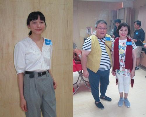 陳漢娜、劉錫賢與吳浣儀