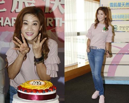 袁潔儀開心在TVB見返很多亞視舊同事。
