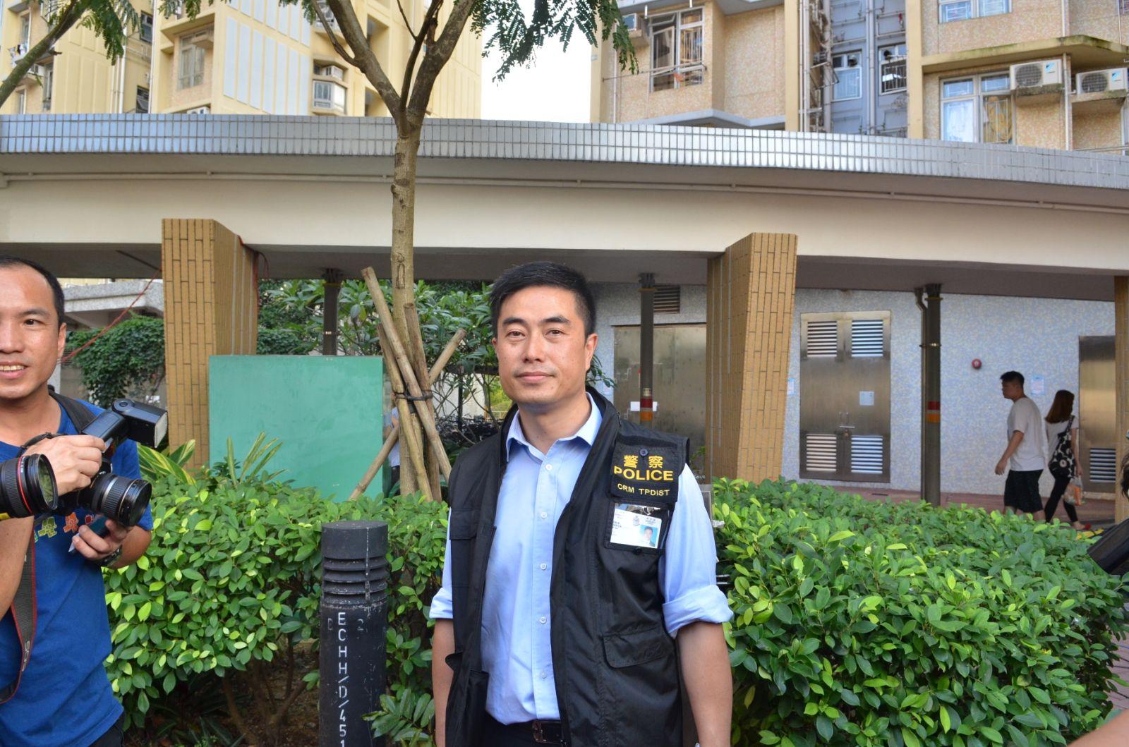 大埔警區助理指揮官警司蔡俊豪