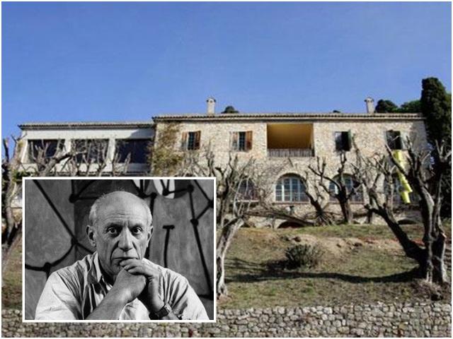畢加索故居出售。