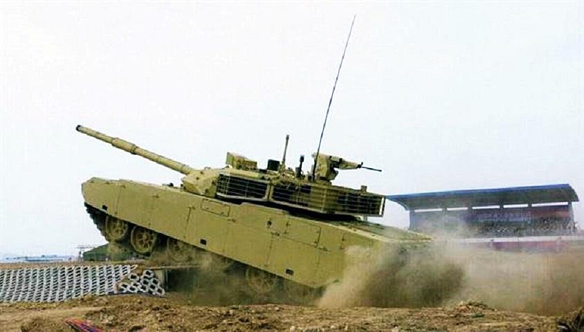泰國從中國購買的坦克,第一批已運抵當地。資料圖片