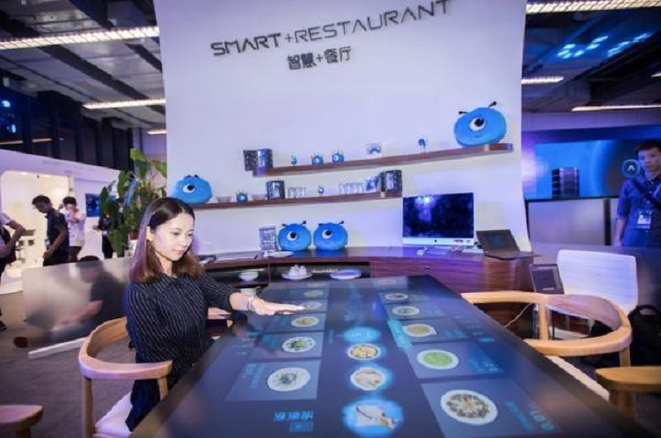 智能餐廳預計1年內可投入商用運作。