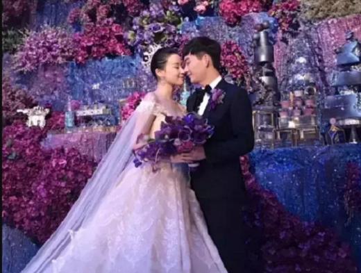 内地鞋業富二代日前舉行了一場約1800萬元的婚禮。 網上圖片