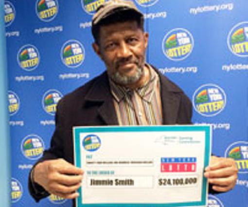 史密斯的其中一張彩票中了2400萬美元(1.8億港元)大獎。 網上圖片