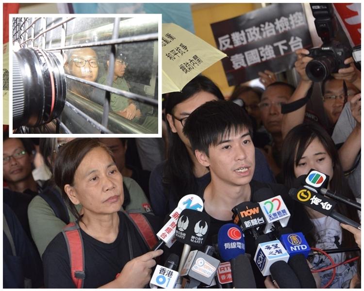 岑敖暉聞訊後於庭外表示對裁決結果失望。