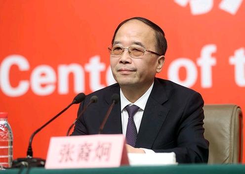 中央統戰部常務副部長張裔炯。新華社