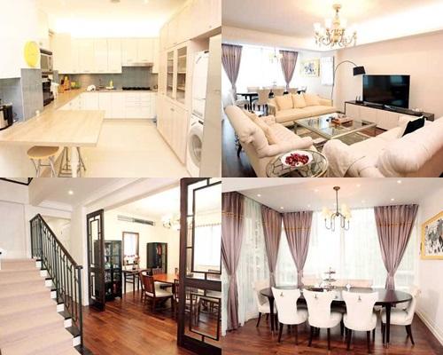 林作一家住在麥當奴道的3千多呎複式豪宅。