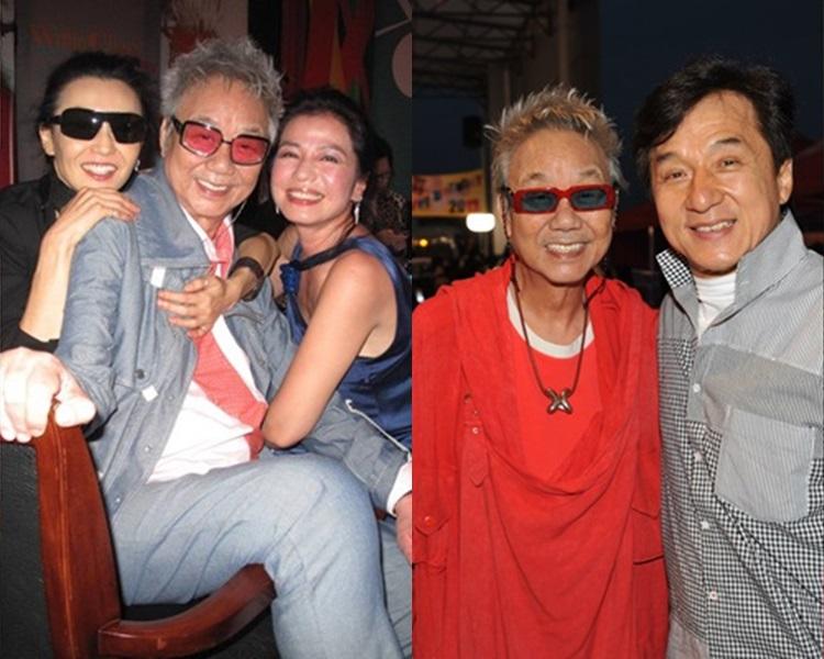 陳自強在8、90年代曾任多位影視紅星的經理人。