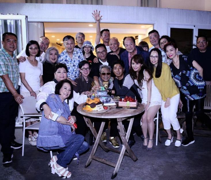陳自強開76歲生日派對,多位好友到場。