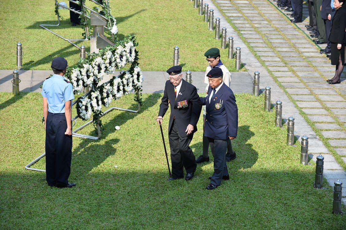 出席人士包括原東江縱隊港九獨立大隊成員和退伍軍人團體等。